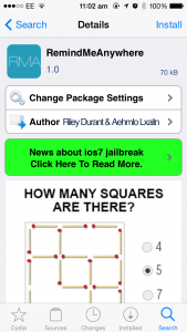 Cydia tweak: Get on-demand reminder notifications with RemindMeAnywhere