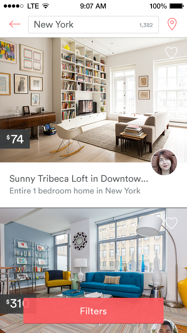 Airbnb rebrands with new design for iOS and rather controversial new logo