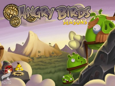 Rovio's Angry Birds Seasons Goes To South Hamerica In Latest Update