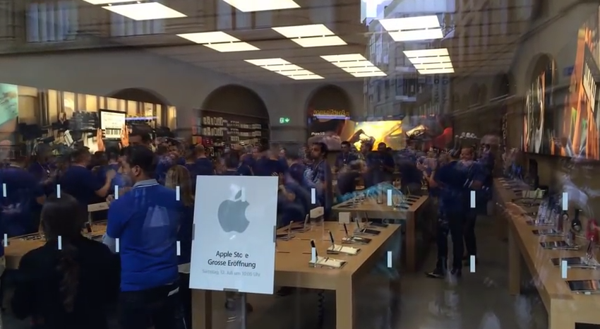 Apple opens new retail store in Basel, teases upcoming one in Edinburgh