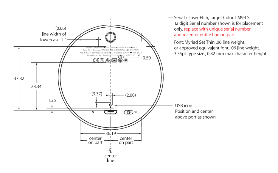 Apple's dedicated iBeacon hardware product shown in FCC certification application