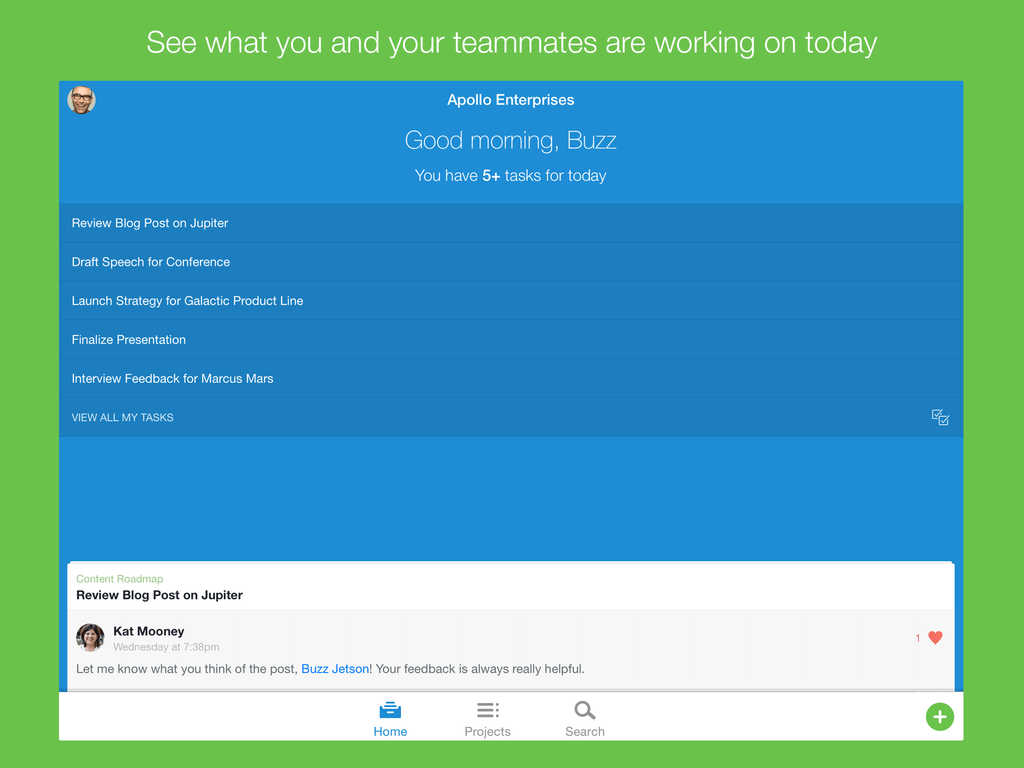 Popular task management app Asana goes 3.0 with iOS 7 redesign and iPad support