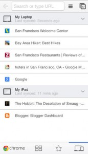 Google updates its popular Chrome Web browser for iOS devices with Cast support