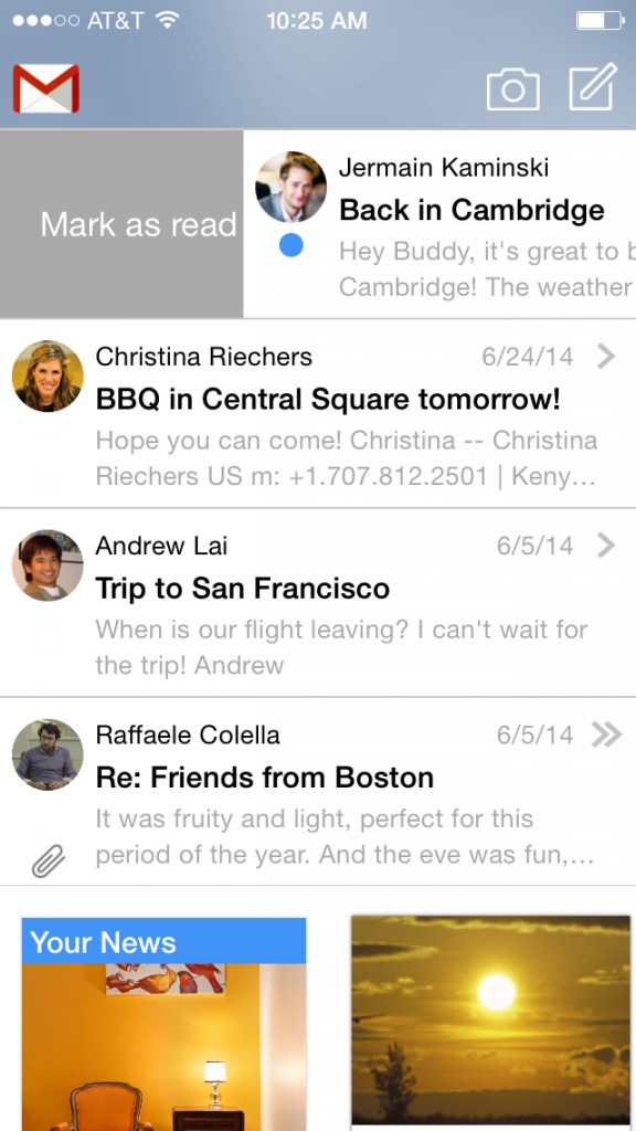Cannonball email app updated with universal support for iPhone plus new features