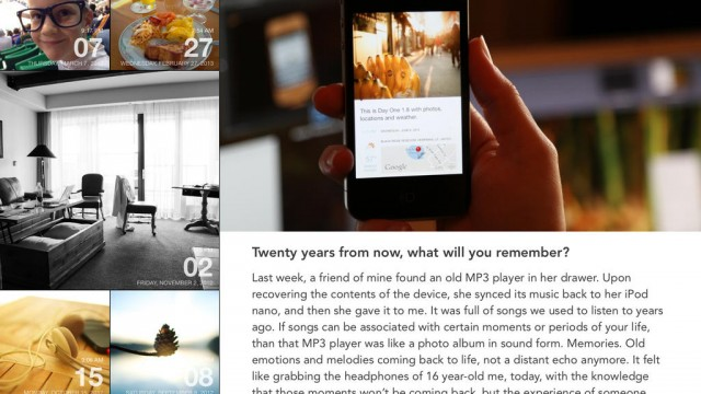 Acclaimed Journal App Day One Goes Free As Apple's App Of The Week