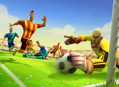 Gooaaaal! Disney Revives Popular Bola Facebook Soccer Game On iOS