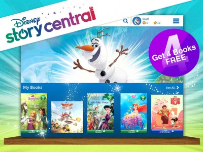 Let your kids discover the pleasure of storytelling with Disney Story Central for iPad