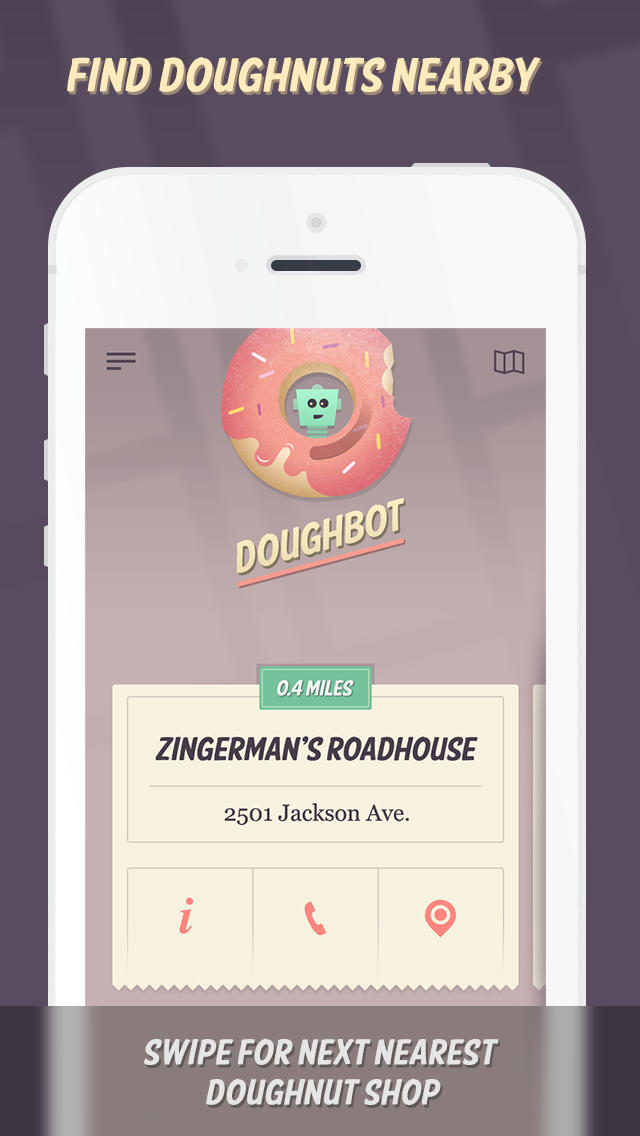'Yelp for doughnuts' app Doughbot updated with search and more features