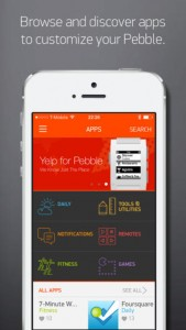 Pebble updates its iOS app to bring new watchapps, proximity improvements