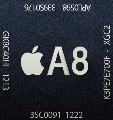 The Apple 'A8' processor could push processing speeds to 2.0 GHz or more
