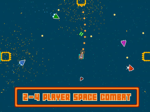 Astro Duel, a new local multiplayer, brings the best of retro gaming to iOS