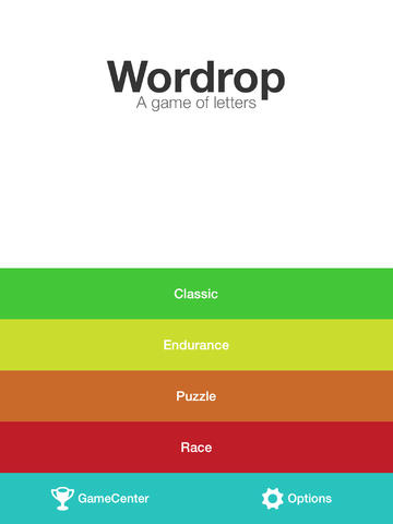 Wordrop Goes 2.0 With New Game Modes, Leaderboards, Achievements And More