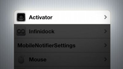 Cydia tweak: Activator gets its biggest update in over a year