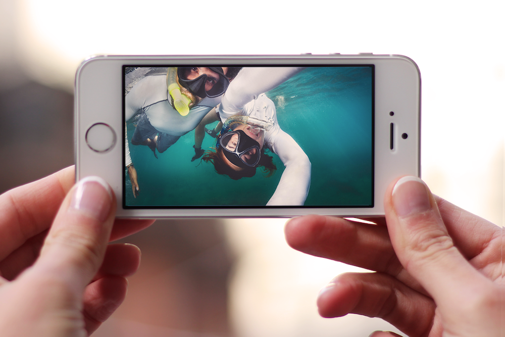 GoPro users can now store their large video files on the free Younity service for iOS