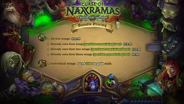 Hearthstone: Heroes Of Warcraft To Get Curse Of Naxxramas With Heroic Mode