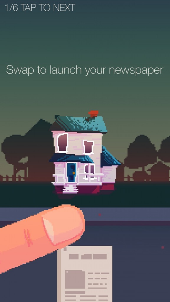 The Delivery Man Makes Newspaper Throwing A Reflex-Based Arcade Game