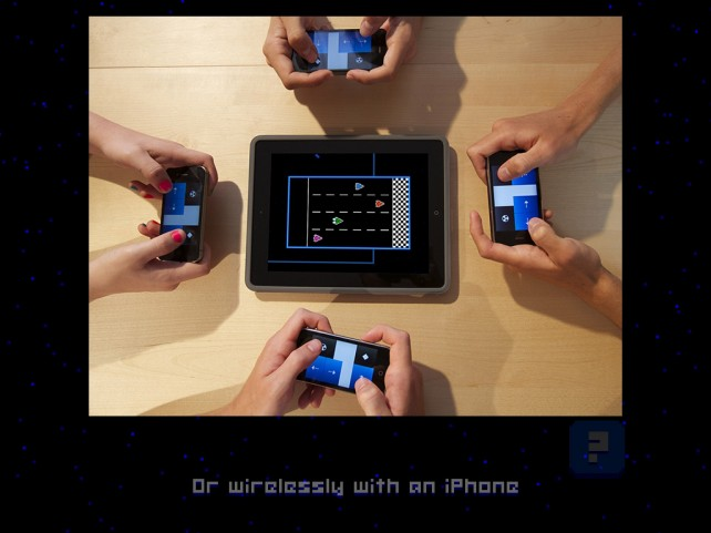 Retro arcade game Astro Duel is a multiplayer hit for the iPad