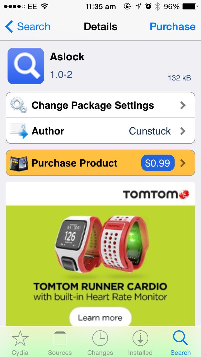 Cydia Tweak: Aslock Adds 2 Useful Gestures To The iOS Spotlight Interface