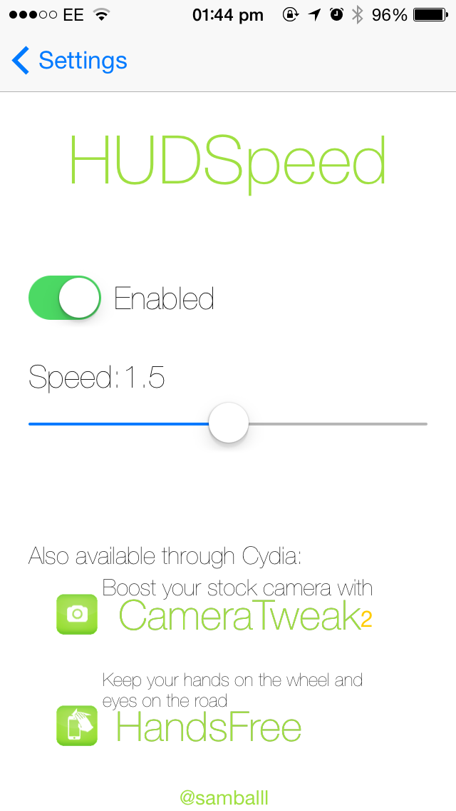 Cydia tweak: Give the iOS volume HUD a boost with HUDSpeed