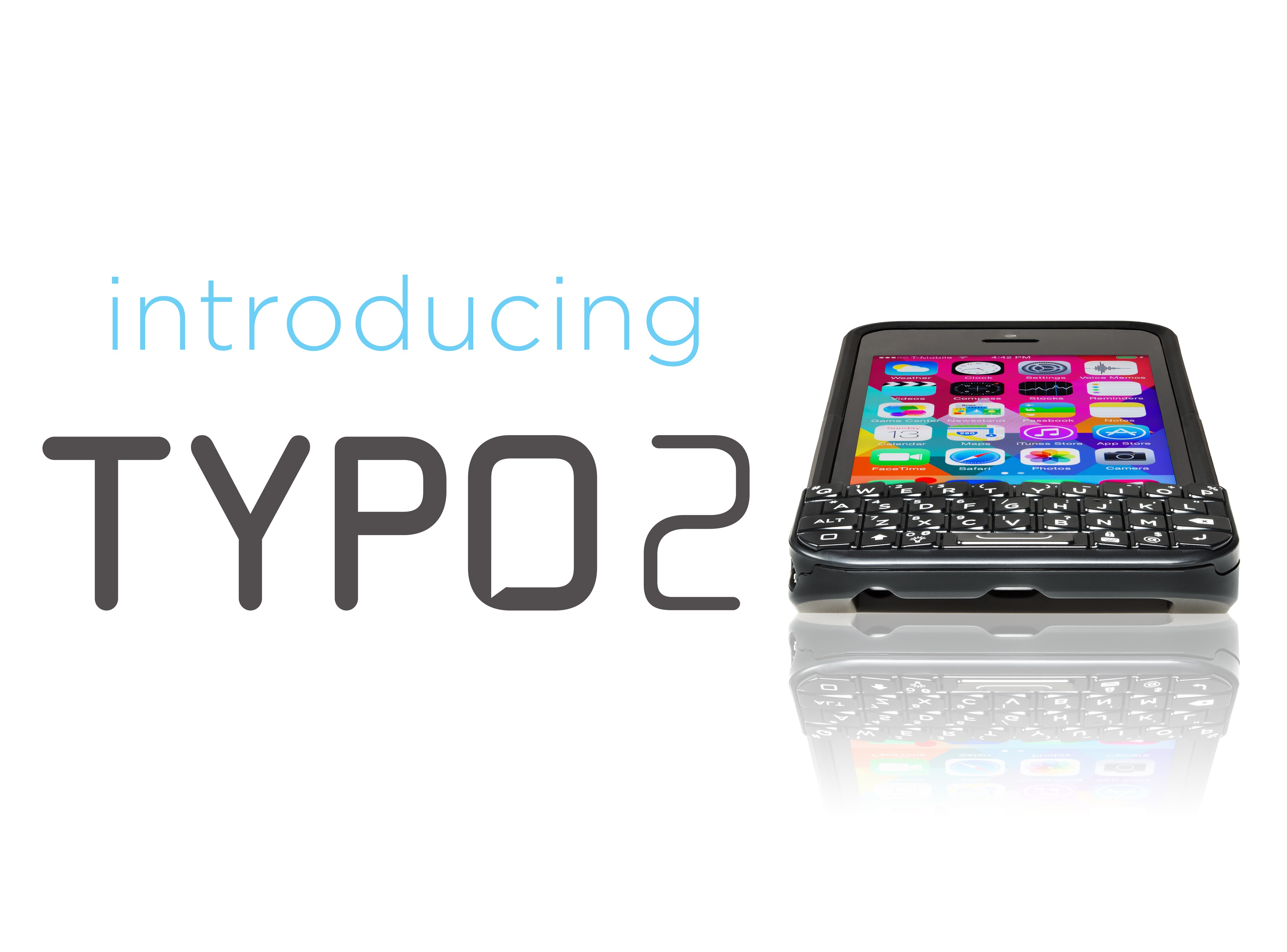 Ryan Seacrest's BlackBerry-like Typo iPhone keyboard case goes for a take-two