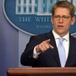Former White House Press Secretary Jay Carney could be Apple's next PR chief
