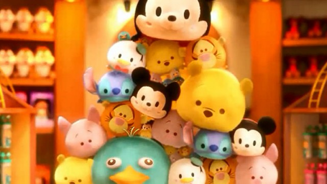 Line: Disney Tsum Tsum Lets You Match And Play With Cute Disney Character Plushies