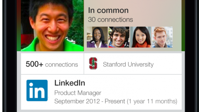 LinkedIn updates flagship iOS app with new features for profiles on iPhone and iPad