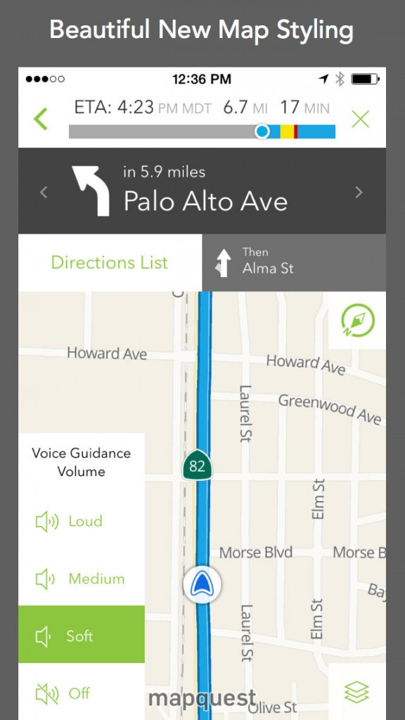 AOL Updates MapQuest With Traffic Data, Airport Maps, Ballpark Guides And More