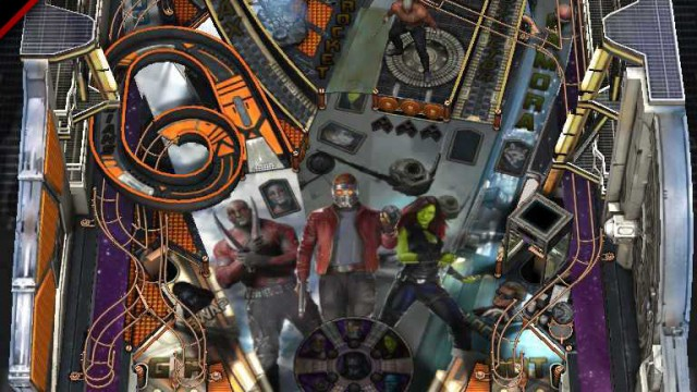 Get hooked on a feeling with the new Guardians of the Galaxy pinball table