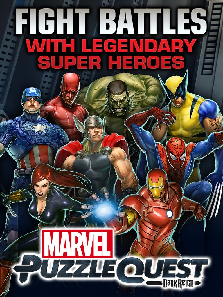 Marvel Puzzle Quest drops 'Dark Reign' subtitle, welcomes Deadpool and Team-Ups