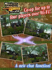 Capcom Unleashes Monster Hunter Freedom Unite For iOS On The App Store Worldwide