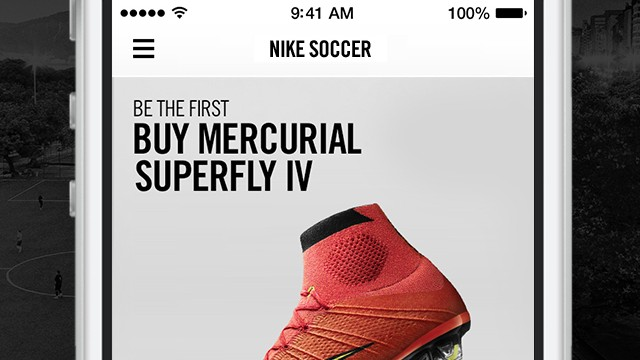 Nike launches new iOS app especially for fans of soccer aka football