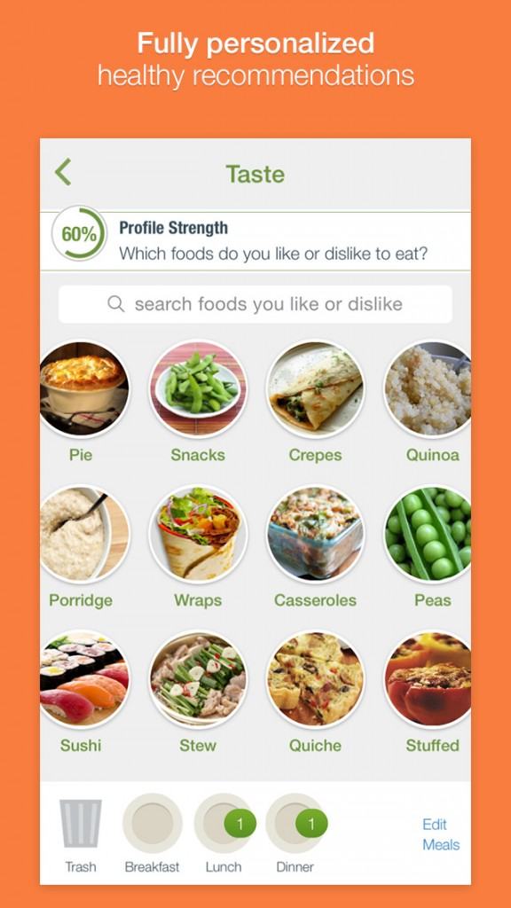 Nutrino virtual nutritionist app goes 2.0 with new design and features to help you eat right