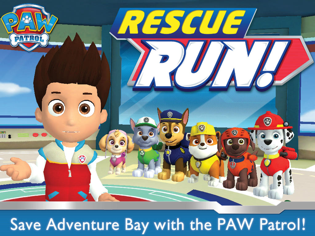 Nickelodeon's PAW Patrol Rescue Run lets preschoolers save the day in Adventure Bay
