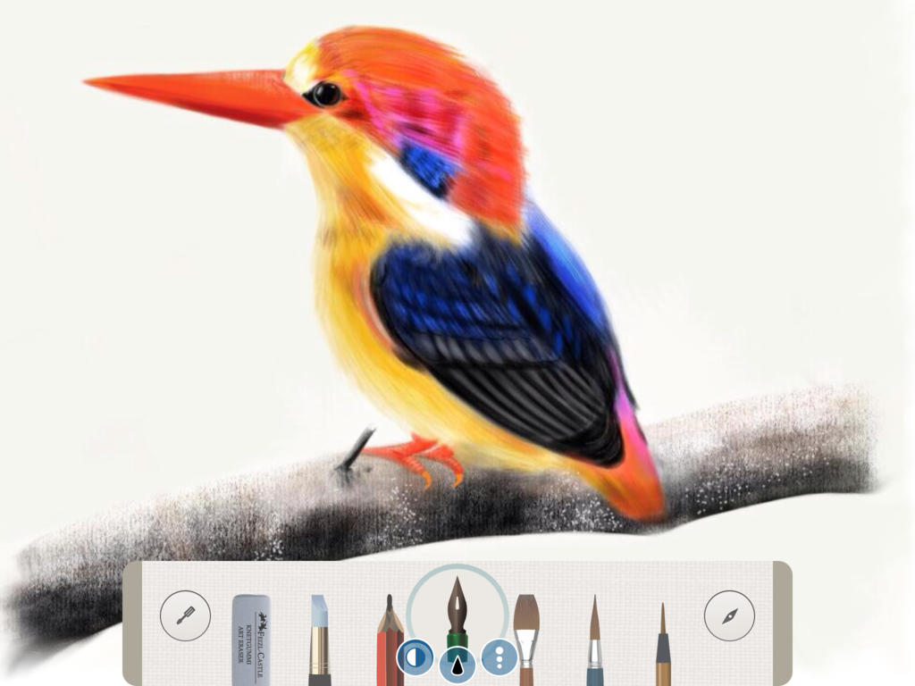 Pen & Ink for iPad updated with 4K output resolution and multiple canvas layers