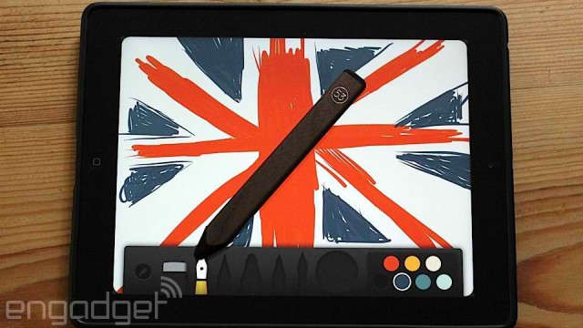 Paper developer FiftyThree launches its Pencil iPad stylus in UK, France and Germany