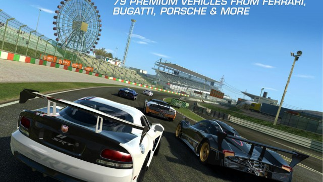 Real Racing 3 Presents Ultimate Showdown Of Classic Ferrari Supercars