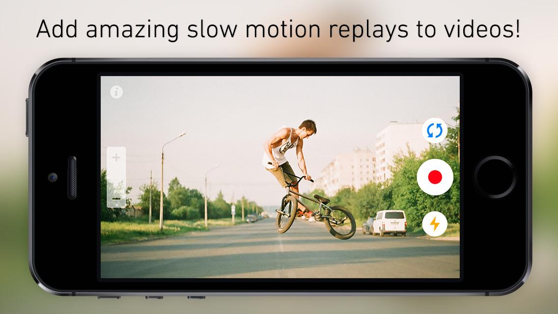 SlowCam Developer Releases Slow Motion Replay Video Camera App ReplayCam