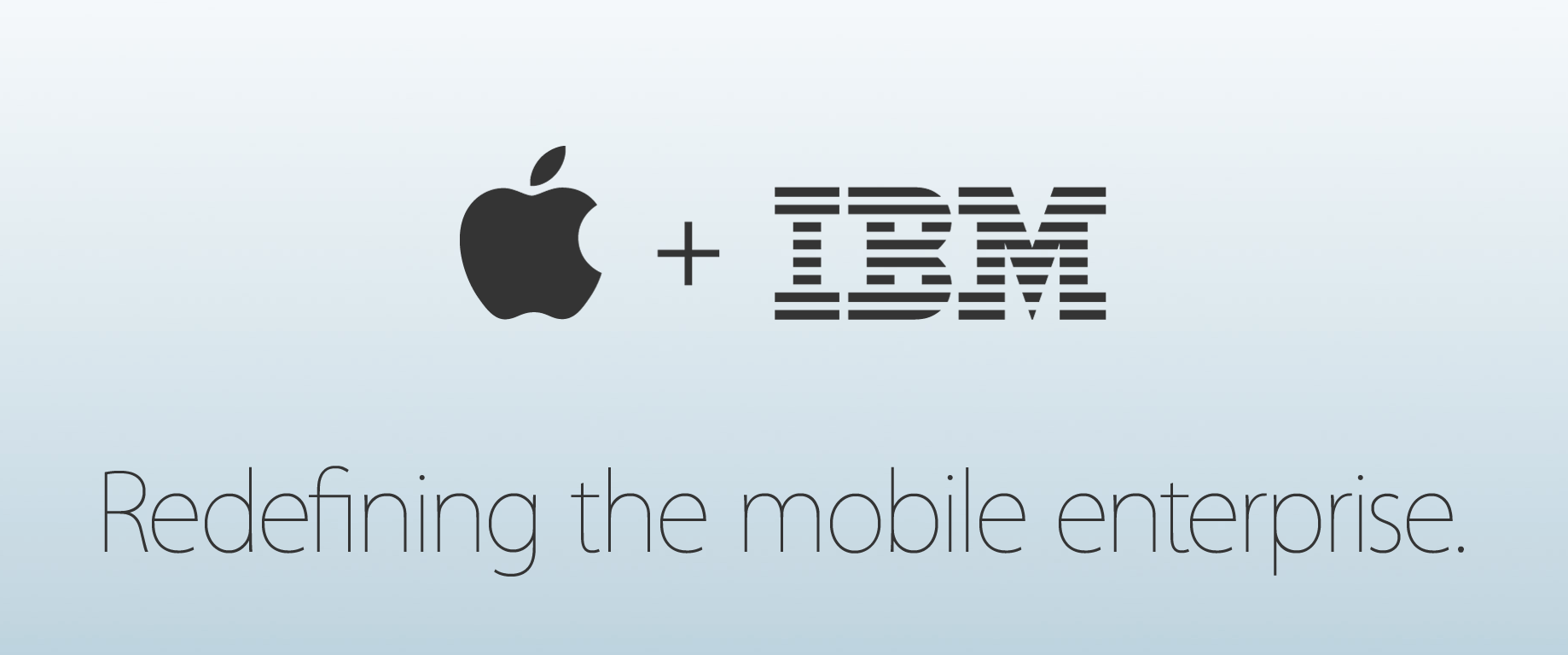 Tim Cook talks IBM partnership in new staff memo