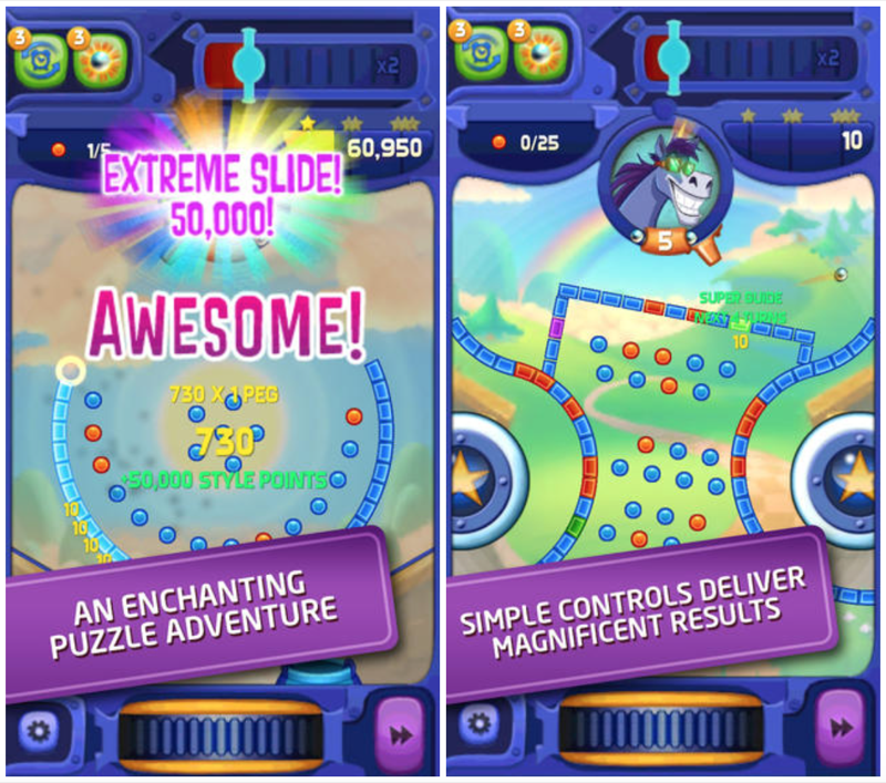 Electronic Arts confirms that a new Peggle game for mobile is inbound