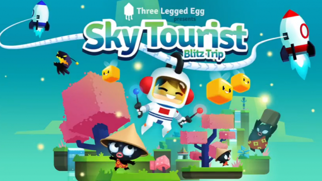 Petey Pendant Goes On A Blitz Trip In Sequel To Hit Puzzle Platformer Sky Tourist