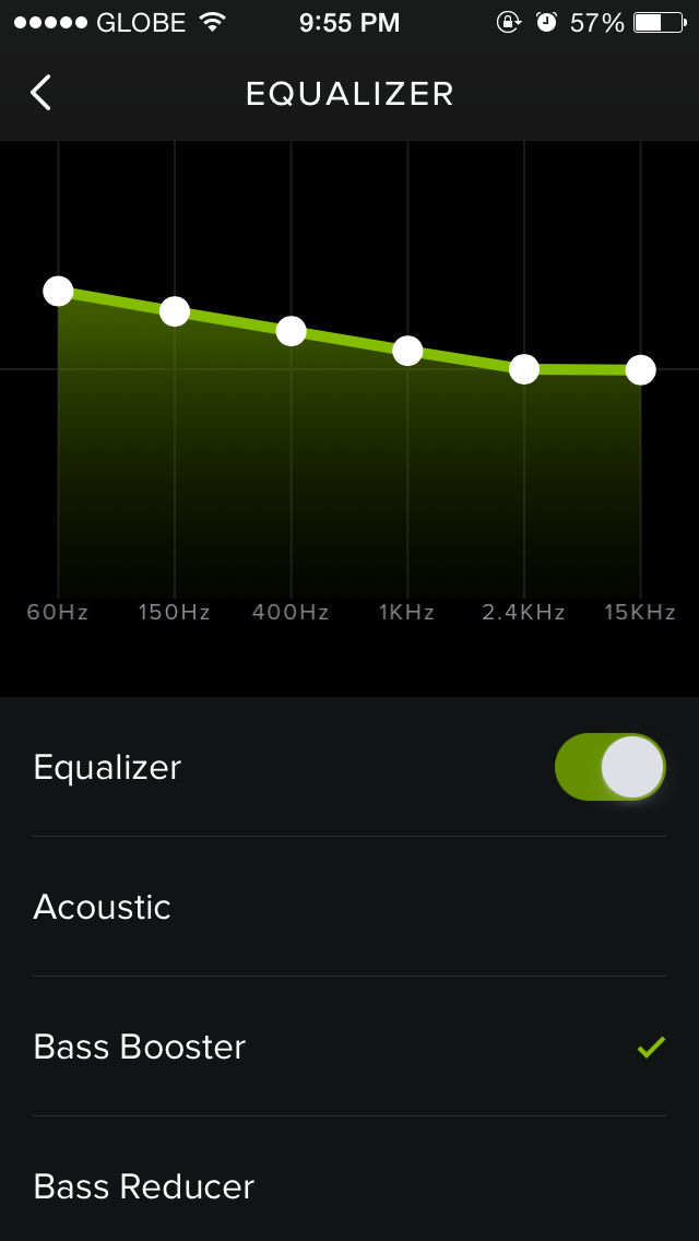 You got that super bass: Spotify for iOS updated with new equalizer feature