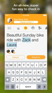 Foursquare updates Swarm with check-in improvements and interface tweaks