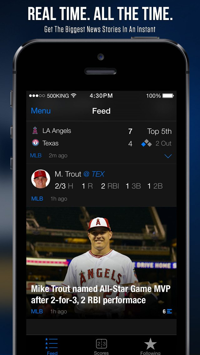 TheScore update hits it out of the park with enhancements for Major League Baseball