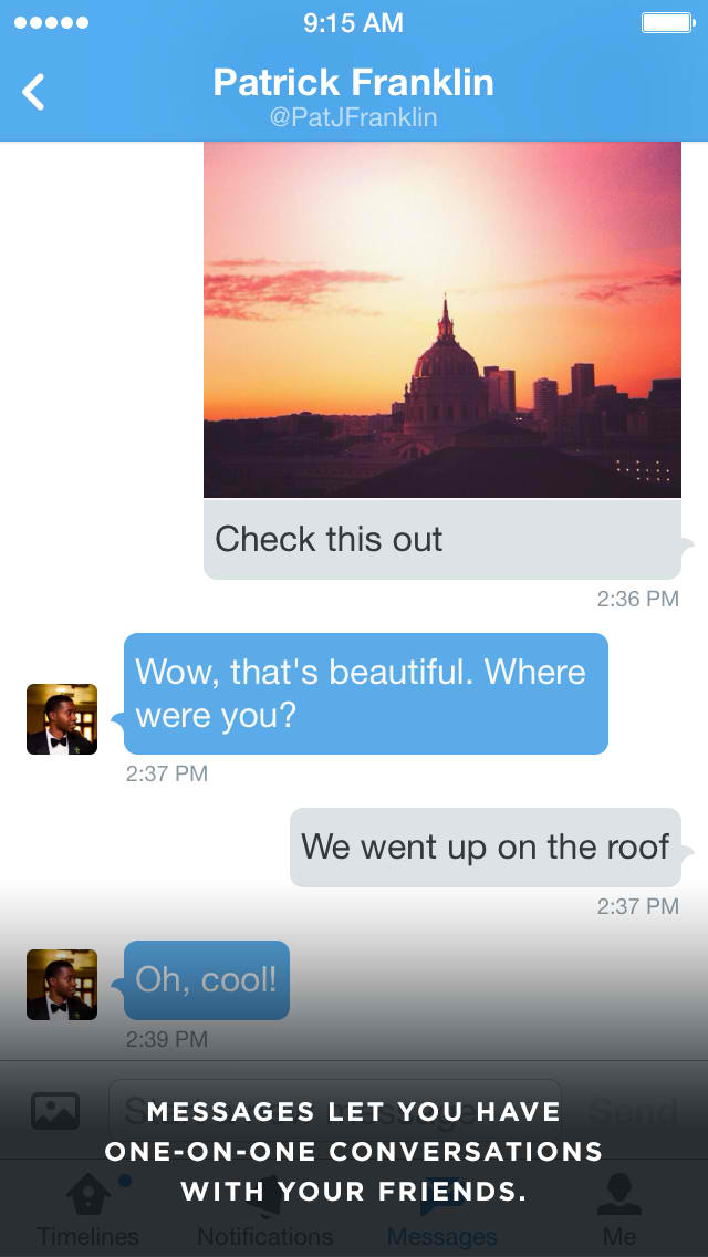 Twitter working on significant enhancements to its direct messaging system