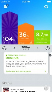 UP by Jawbone updated with Food Score and other features to help you eat better