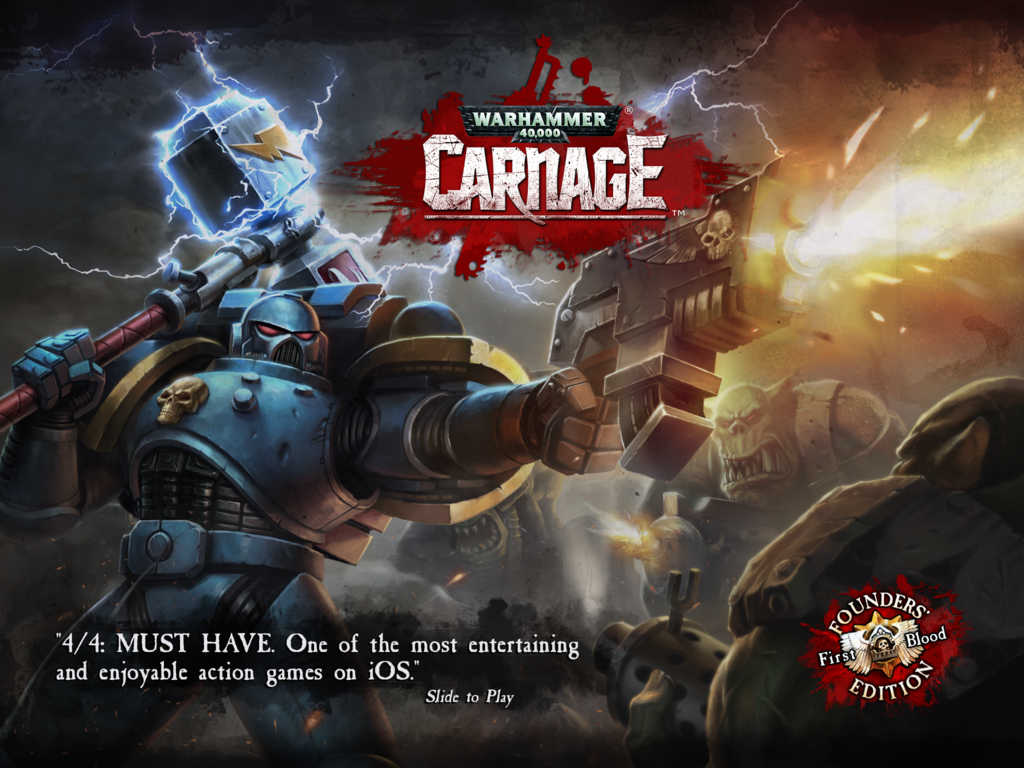 Warhammer 40,000: Carnage welcomes the new Dark Angel Space Marine
