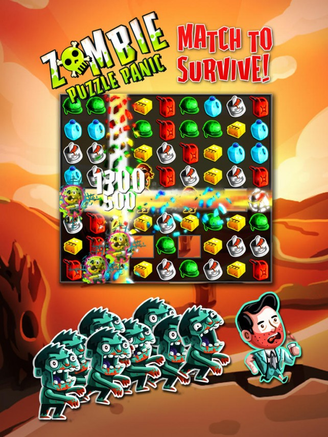 Devs Behind Please Stay Calm And Zombie Road Trip Release Zombie Puzzle Panic For iOS