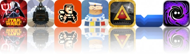 Today's apps gone free: Angry Birds Star Wars II, Symmetrain, Devil Shard and more
