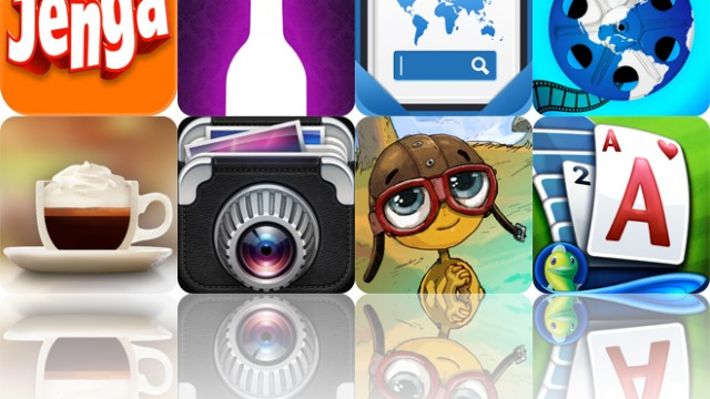 Today's apps gone free: Jenga, IntelliDrink, picTrove Pro and more